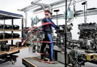 3D-технология motion capture на заводе Ford: рабочие носят высокотехнологичные костюмы для улучшения эргономики