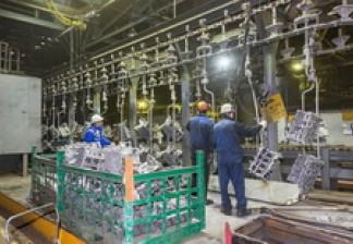 На литейном заводе за полгода сэкономили более 6,5 млн рублей