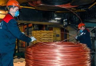 Как «Уралэлектромедь» увеличила выпуск медной катанки на 15 %