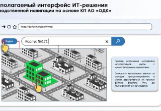 ФОТО: проект «Производственная навигация»